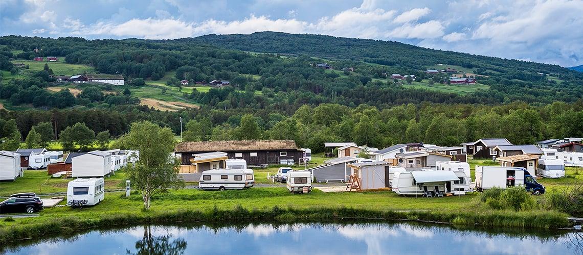 Campingplasser i Norge kan tilby ferske bakervarer