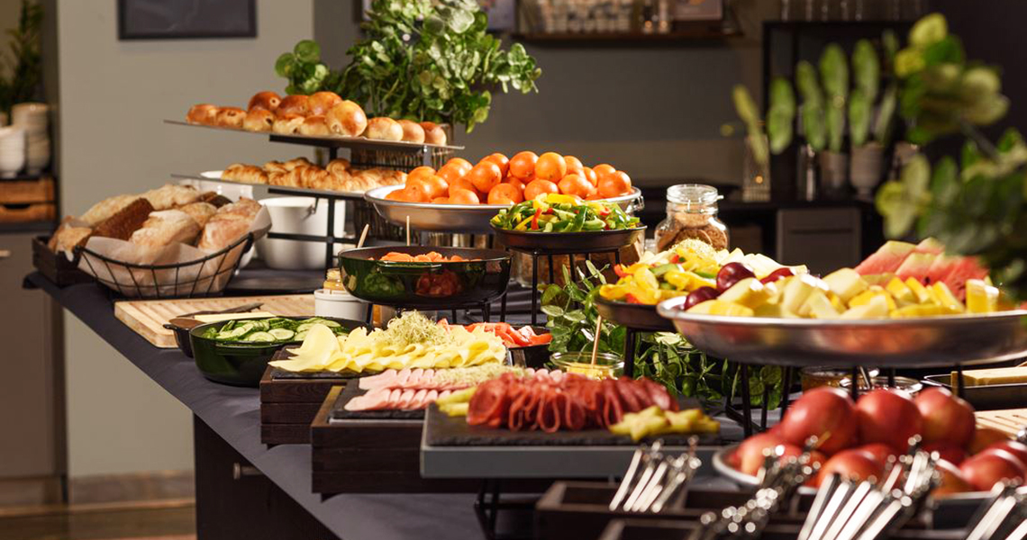 Frokostbuffet Comfort Hotel Square