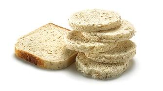 Brød uten skorpe
