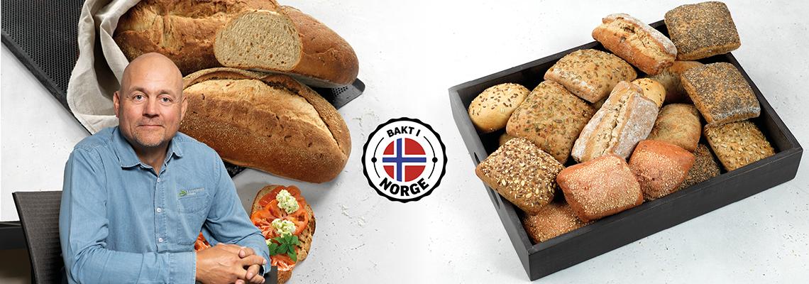 Bakervarer bakt i Norge