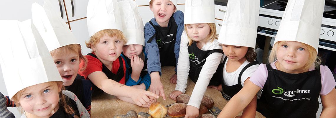 Barn i barnehagen trenger gode brødmåltider