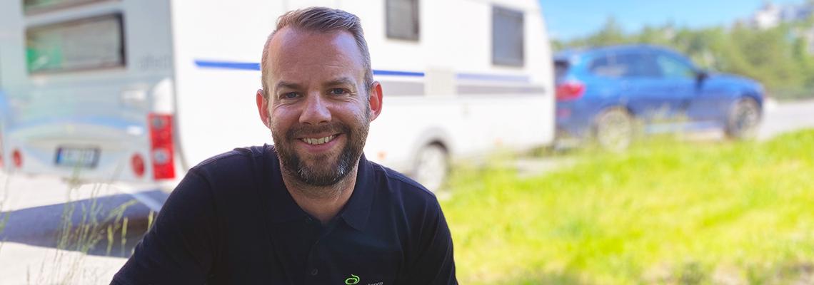 Jon Inge Ringsby er salgsansvarlig for campingsegementet i Lantmännen Unibake