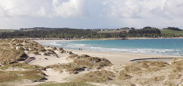 Sola Strand Hotel ligger ved stranden